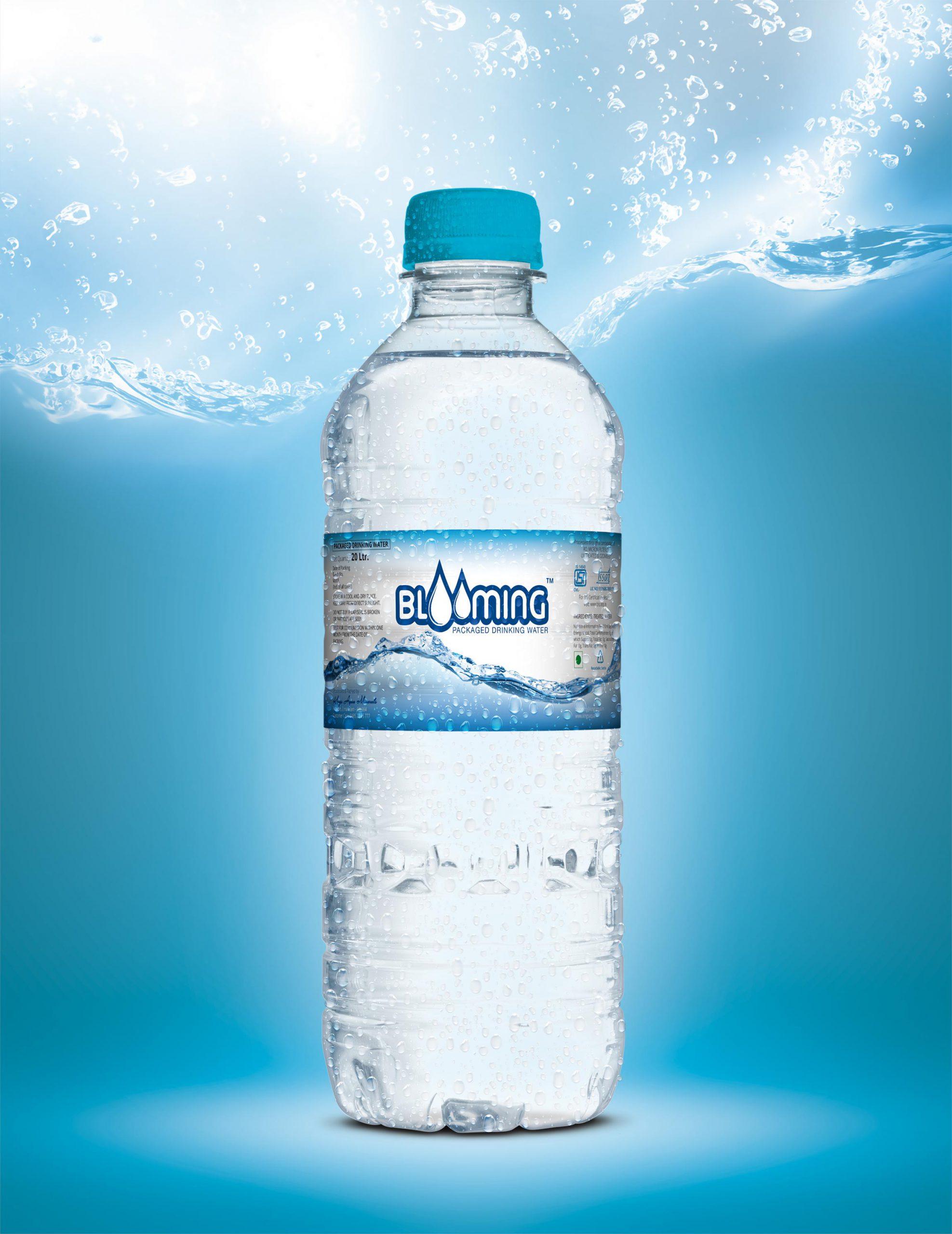water bottle package design kerala