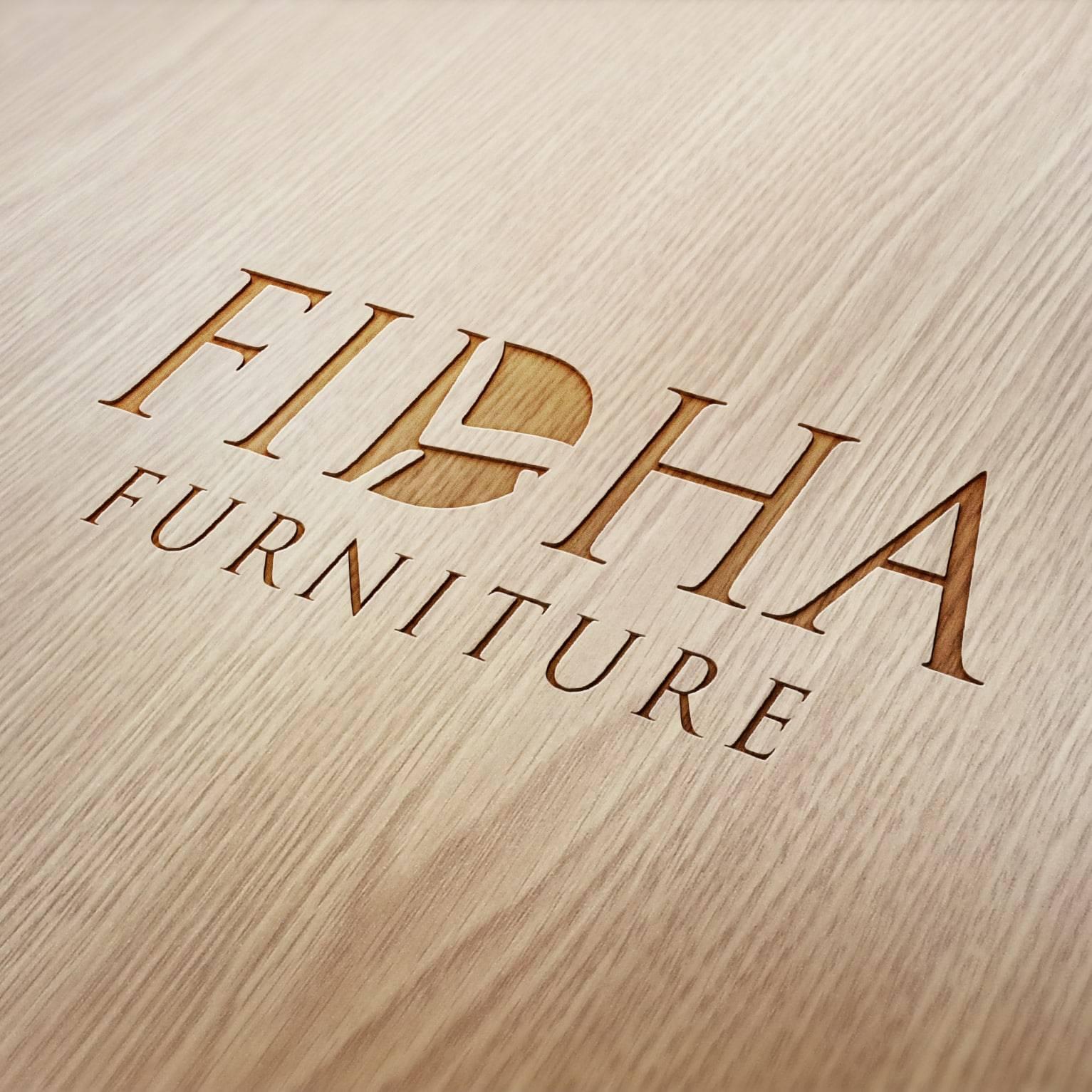 Furniture shop branding