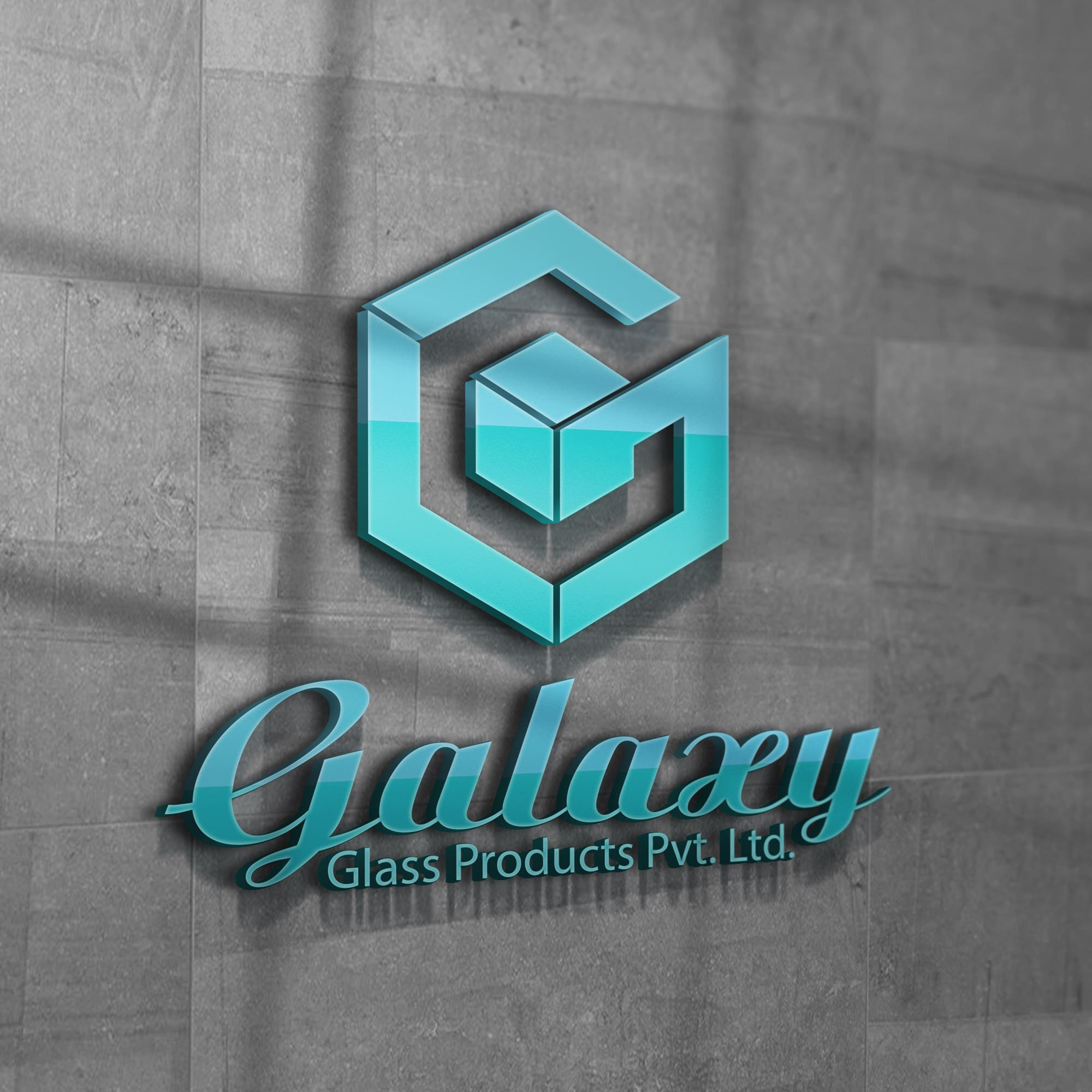 Glass product branding